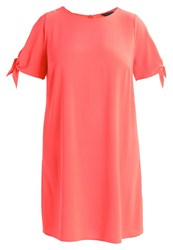 Dorothy Perkins Curve Summer Dress Pink Coral