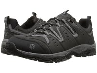 Jack Wolfskin Mountain Storm Texapore Low Silver Grey Men's Shoes Gray