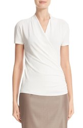 Max Mara Women's Coccole Faux Wrap Blouse