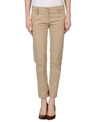 Denny Rose Casual Pants Sand
