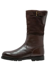 Prime Shoes Pilot Winter Boots Espresso Testa Di Moro Dark Brown