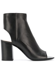 Barbara Bui Cut Out Ankle Boots Women Calf Leather Leather 40 Black