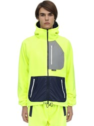 Lc23 Polartec Nylon Jacket Yellow