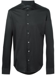 Pal Zileri Spread Collar Shirt Grey