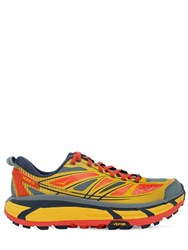 Hoka One One Mafate Speed 2 Running Sneakers Yellow