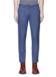 Topman Skinny Fit Pants Blue