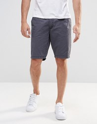 Blend Of America Chino Shorts Straight Fit In India Ink India Ink Blue