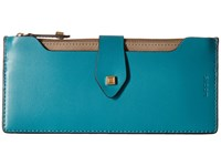 Lodis Blair Unlined Sandy Multi Pouch Wallet Ivy Taupe Wallet Handbags Blue
