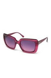 M Missoni Women's Oversized Acetate Frame Sunglasses Pink