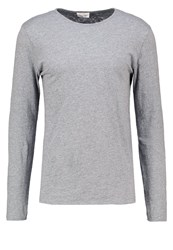 American Vintage Lamastate Long Sleeved Top Heather Grey
