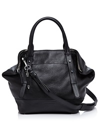 Mackage Raffa Satchel Black Shiny Nickel