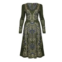 Ekaterina Kukhareva Olivia Dress Green