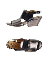 Moma Sandals Silver