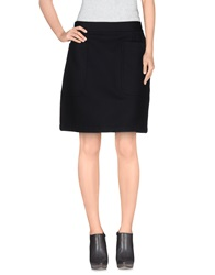 Burberry Brit Knee Length Skirts Black