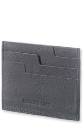 Moleskine Moleskin Lineage Leather Card Case Blue Avio Blue