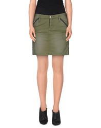 G Star G Star Raw Skirts Mini Skirts Women Military Green