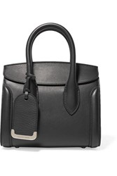 Alexander Mcqueen Heroine Small Leather Tote Black