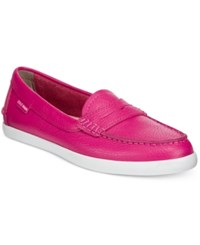 Cole Haan Pinch Weekender Loafers Women's Shoes Fuschia Pink