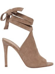 Kendall Kylie 105Mm Evelyn Suede Wrap Around Sandals