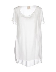 Nude Blouses White