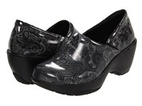 Nurse Mates Bryar Black Dark Grey Women's Clog Shoes
