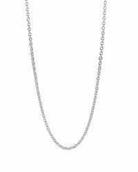 Pandora Design Pandora Necklace Oxidized Silver Chain 17.7