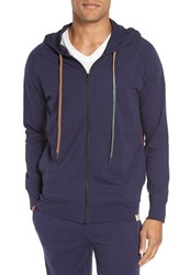 Paul Smith Men's Cotton Zip Hoodie Navy
