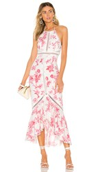 X By Nbd Penelope Midi Dress In Pink. Harvest Pink