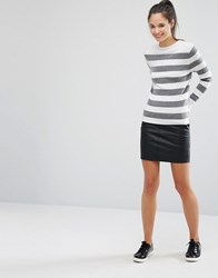 Only Pu Mini Skirt Black