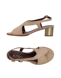 Avril Gau Sandals Beige