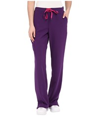 Jockey Modern Convertible Drawstring Waist Pants Eggplant Women's Casual Pants Purple