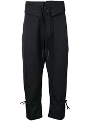 Lost And Found Ria Dunn Easy Trousers Black