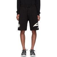 Givenchy Black Glow In The Dark Shorts 001 Black