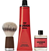 Claus Porto Musgo Real Spiced Citrus Gift Set Red