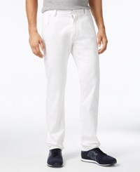 Armani Exchange Men's Five Pocket Pants White