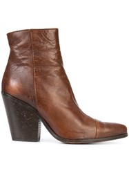 Golden Goose Deluxe Brand The West Boots Women Leather 37 Brown