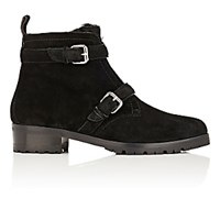 Tabitha Simmons Women's Aggy Suede Ankle Boots Blue