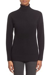 Women's Nordstrom Collection Cashmere Turtleneck Sweater Black