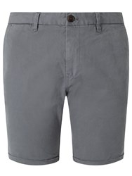 Scotch And Soda Classic Garment Dyed Shorts Steel