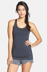 Women's Brooks 'Go To' Racerback Tank Black Asphalt