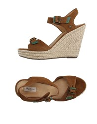 Pepe Jeans Footwear Espadrilles Women Brown