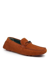 Ted Baker Carlsun 2 Suede Driving Moccasins Tan