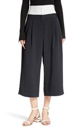 Tibi Women's Double Waist Crop Pants
