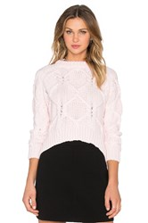 Finders Keepers White Lies Sweater Pink