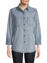 Sandrine Rose The Mullholland Denim Shirt By Water