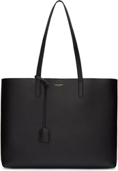 Saint Laurent Black Large Shopping Tote Bag
