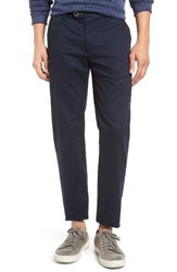 Ted Baker Men's London Exmoor Print Chino Trousers Navy