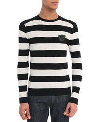 Ikks Black Striped Sweater