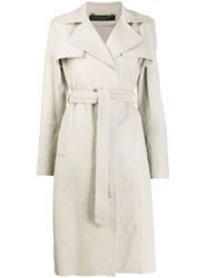 Federica Tosi Belted Trench Coat 60