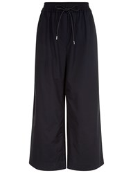 3.1 Phillip Lim Phantom Blue Cotton Drawstring Trousers